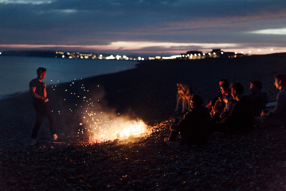 list-of-stock-image-sites-beach-bonfire