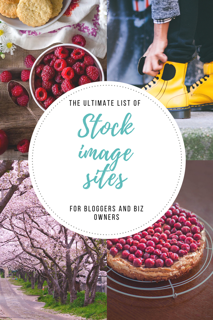 list of stock image sites pexels pin it