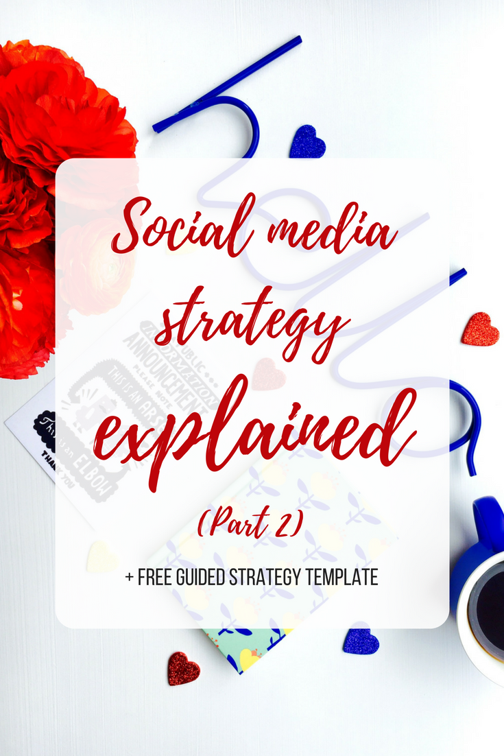 Part 2 Social media strategy explained pin