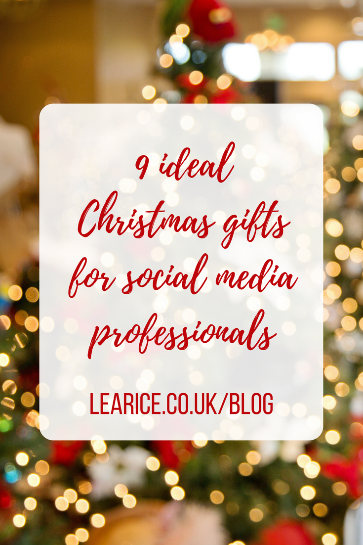 9 Ideal Christmas gifts for social media professionals