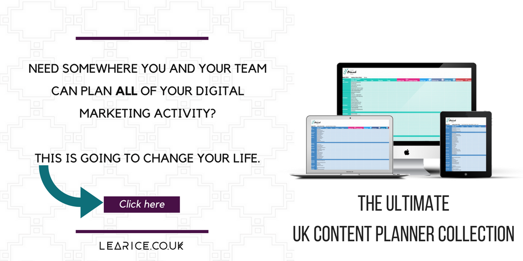 Ultimate UK Content Planner Buy Now Button