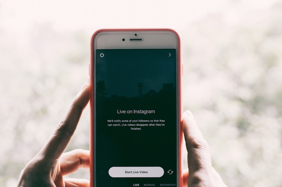 Instagram Live fear of running webinars will NOT serve you