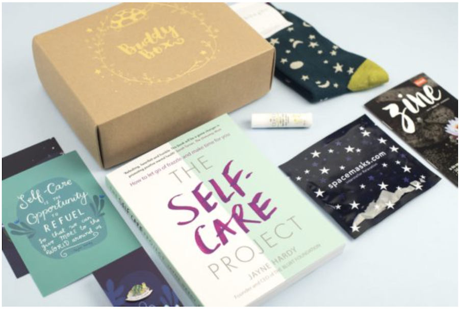 The essential mental health toolkit for social media manager wellbeing buddy box